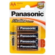 "Batterien ""Panasonic Alkaline Power Mignon"", AA, 4er"